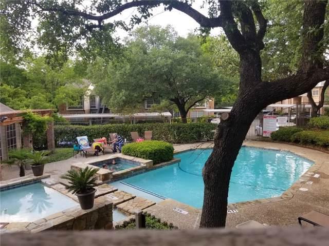 9801 Royal Lane #105, Dallas, TX 75231 (MLS #14159254) :: Lynn Wilson with Keller Williams DFW/Southlake