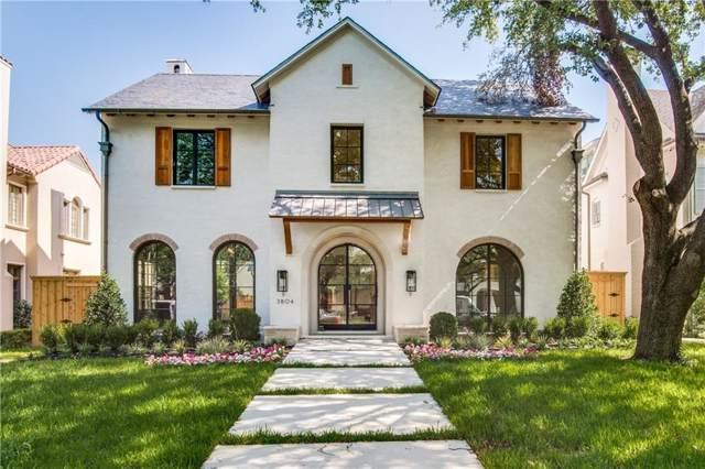 3804 Greenbrier Drive, University Park, TX 75225 (MLS #14159301) :: Robbins Real Estate Group