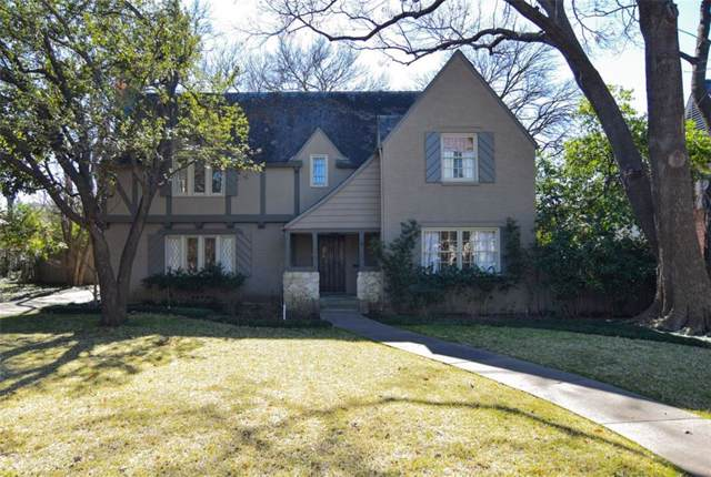 5412 Neola Drive, Dallas, TX 75209 (MLS #14159315) :: The Chad Smith Team