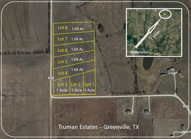 Lot 2 County Road 4308, Greenville, TX 75401 (MLS #14159324) :: The Mitchell Group