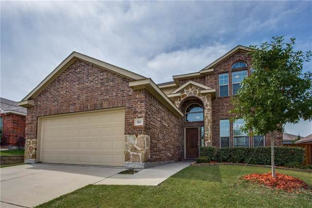 503 Paddock Lane, Celina, TX 75009 (MLS #14159369) :: Lynn Wilson with Keller Williams DFW/Southlake