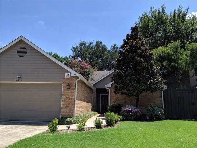 2510 Lake Bend Terrace, Carrollton, TX 75006 (MLS #14159638) :: Potts Realty Group