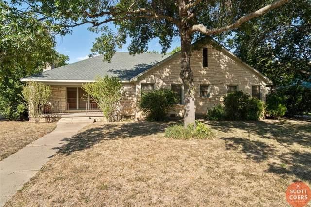 2006 Belmeade Street, Brownwood, TX 76802 (MLS #14159723) :: The Heyl Group at Keller Williams