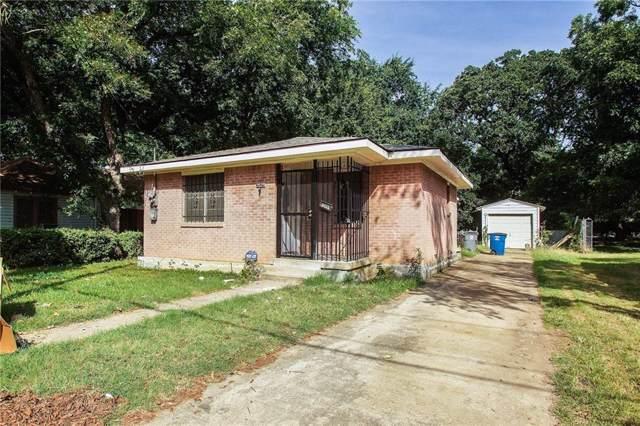 3525 Cauthorn Drive, Dallas, TX 75210 (MLS #14159728) :: Kimberly Davis & Associates