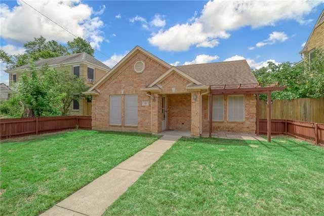 630 W Neely Street, Dallas, TX 75208 (MLS #14159773) :: Ann Carr Real Estate