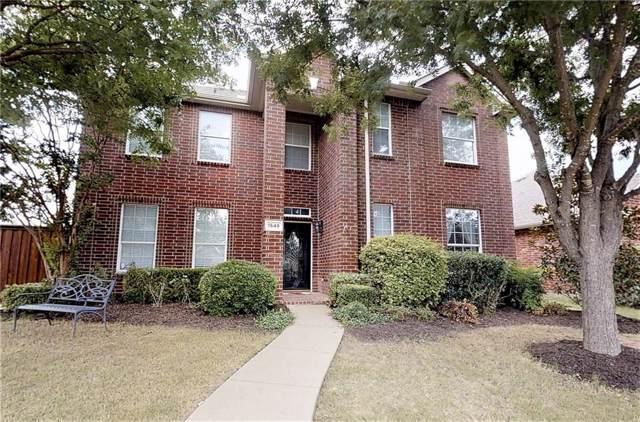 1549 Sleepy Hollow Drive, Allen, TX 75002 (MLS #14160223) :: The Heyl Group at Keller Williams