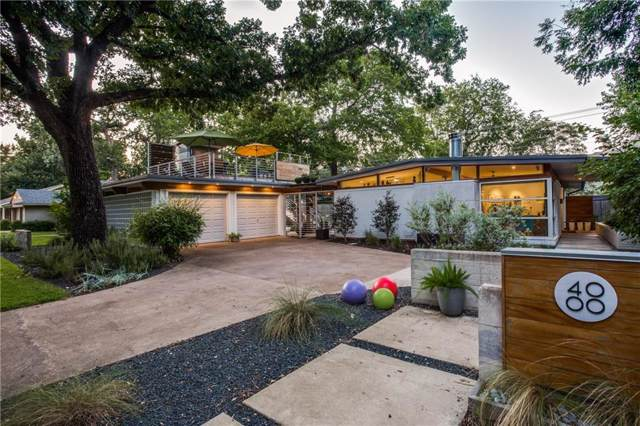 4000 Hartwood Drive, Fort Worth, TX 76109 (MLS #14160321) :: Real Estate By Design