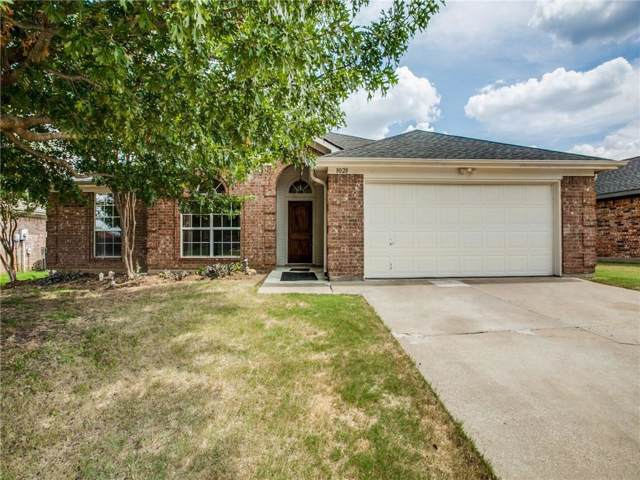 8028 Mourning Dove Drive, Arlington, TX 76002 (MLS #14160442) :: Hargrove Realty Group