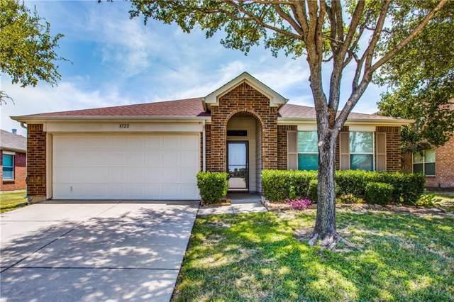 4521 Napa Valley Drive, Denton, TX 76226 (MLS #14160476) :: NewHomePrograms.com LLC