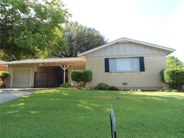 4904 Glade Street, Fort Worth, TX 76114 (MLS #14160691) :: Real Estate By Design