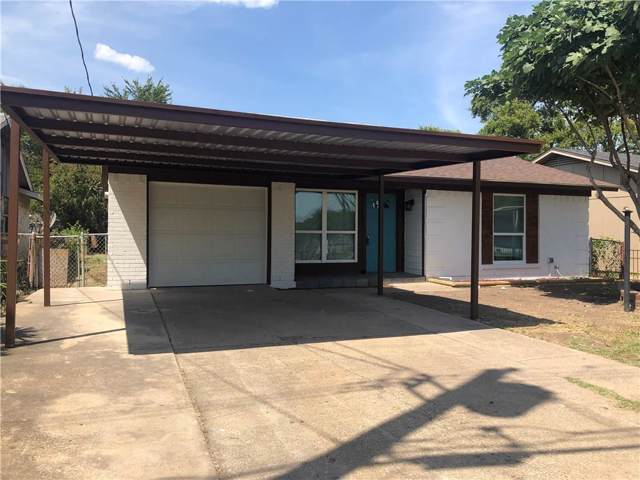 3911 Bernal Drive, Dallas, TX 75212 (MLS #14160706) :: The Heyl Group at Keller Williams