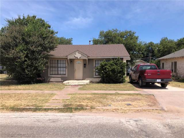 2526 S 3rd Street, Abilene, TX 79605 (MLS #14160965) :: Tenesha Lusk Realty Group