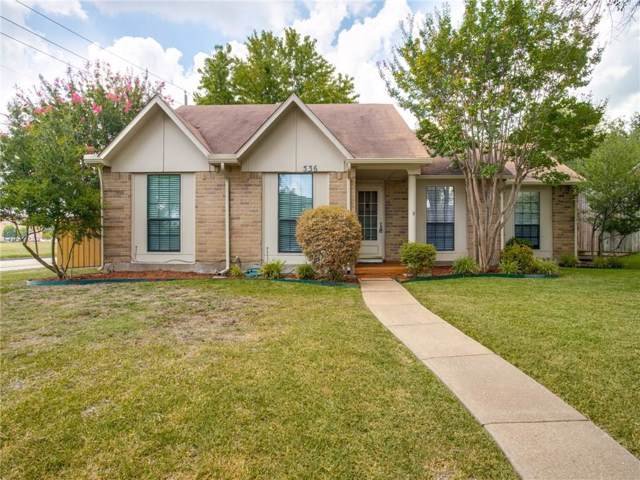 536 English Oak Drive, Allen, TX 75002 (MLS #14160968) :: Vibrant Real Estate