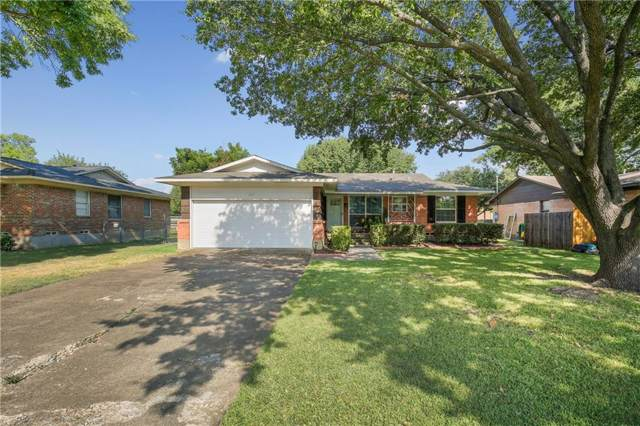 802 Lorrie Drive, Richardson, TX 75080 (MLS #14161299) :: Real Estate By Design