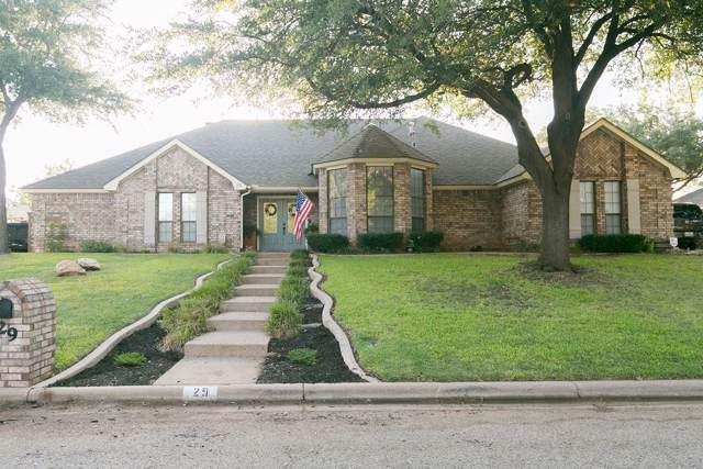 29 Hoylake Drive, Abilene, TX 79606 (MLS #14161385) :: The Julie Short Team