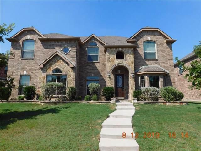 12426 Pleasant Grove Drive, Frisco, TX 75035 (MLS #14161398) :: The Rhodes Team