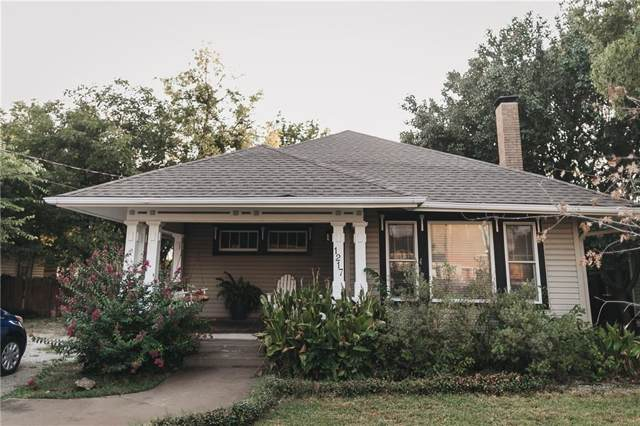 1217 N Austin Street, Denton, TX 76201 (MLS #14161405) :: Real Estate By Design