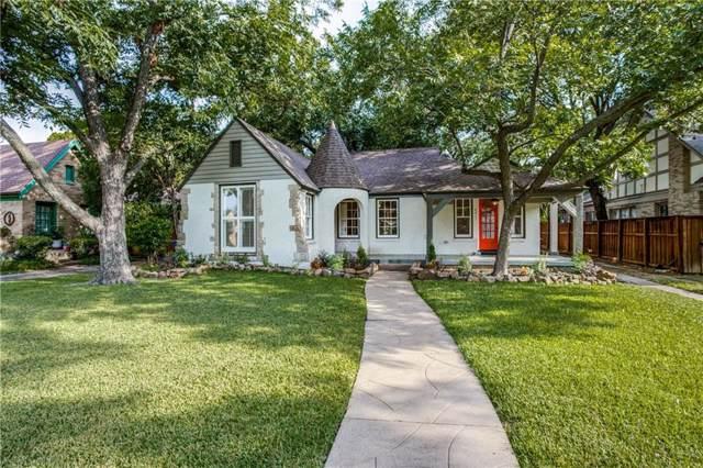 6417 Glenrose Court, Dallas, TX 75214 (MLS #14161434) :: RE/MAX Landmark