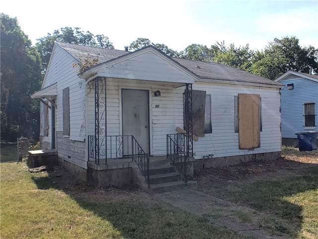 810 Lambert Street, Dallas, TX 75203 (MLS #14161441) :: The Heyl Group at Keller Williams