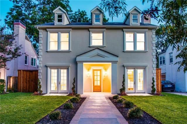 6026 Vanderbilt Avenue, Dallas, TX 75206 (MLS #14161619) :: Kimberly Davis & Associates