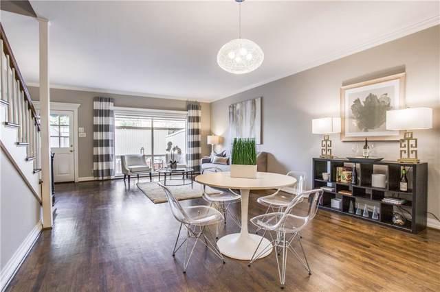7424 W Northwest Highway #8, Dallas, TX 75225 (MLS #14161819) :: Robbins Real Estate Group