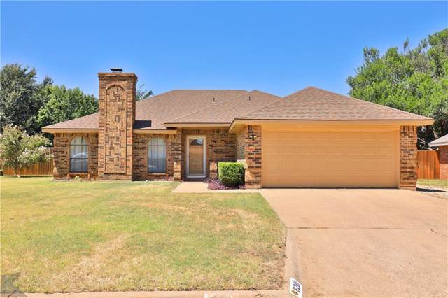6210 Live Oak Trail, Abilene, TX 79606 (MLS #14161843) :: The Tonya Harbin Team