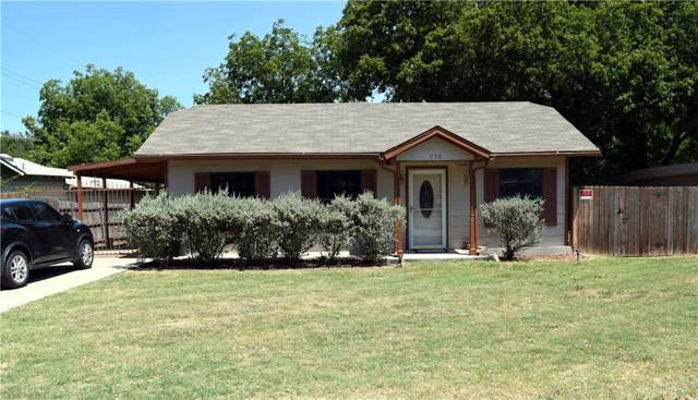 520 Comal Avenue, White Settlement, TX 76108 (MLS #14161851) :: The Chad Smith Team