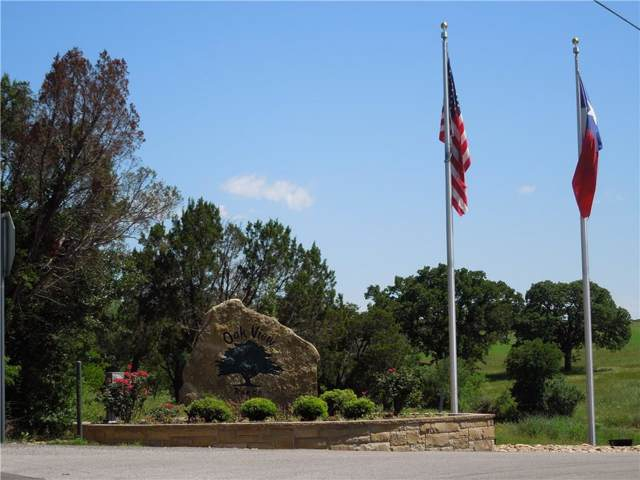 Lot 18 County Rd 2027, Glen Rose, TX 76043 (MLS #14161910) :: The Heyl Group at Keller Williams