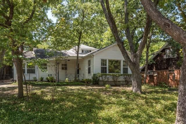 1233 Woodlawn Avenue, Dallas, TX 75208 (MLS #14162148) :: Van Poole Properties Group