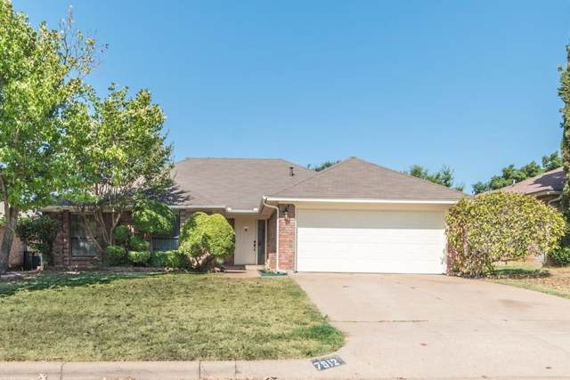 7912 Gladewater Drive, Fort Worth, TX 76134 (MLS #14162162) :: All Cities Realty