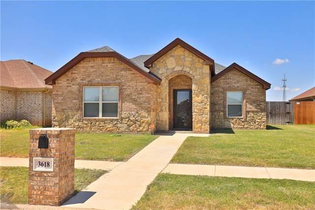 3618 Firedog Road, Abilene, TX 79606 (MLS #14162174) :: Century 21 Judge Fite Company