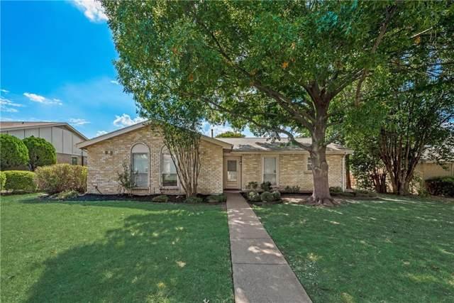 1105 Brush Creek Drive, Richardson, TX 75081 (MLS #14162433) :: The Good Home Team