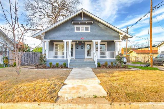 800 Lilac Street, Fort Worth, TX 76110 (MLS #14162566) :: The Heyl Group at Keller Williams