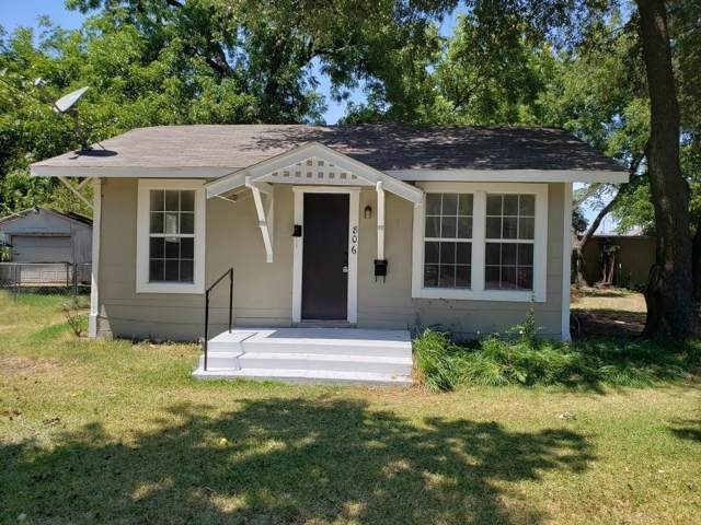 806 W Chambers Street, Cleburne, TX 76033 (MLS #14162651) :: The Good Home Team