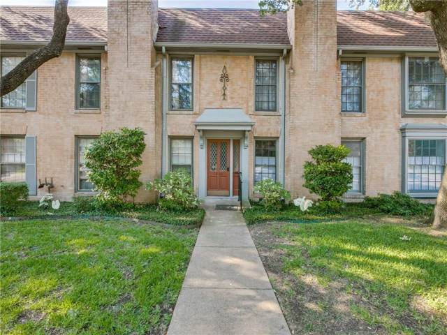 7808 Meadow Park Drive #124, Dallas, TX 75230 (MLS #14162655) :: The Paula Jones Team | RE/MAX of Abilene