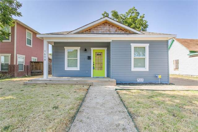 1608 E Hattie Street, Fort Worth, TX 76104 (MLS #14162687) :: The Heyl Group at Keller Williams