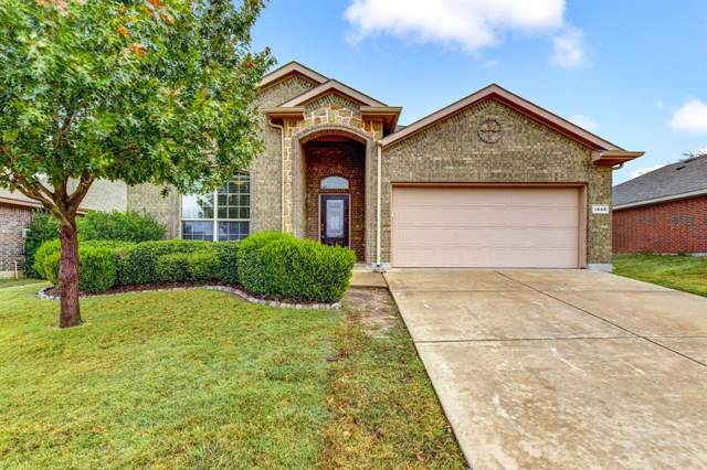 1448 Dun Horse Drive, Fort Worth, TX 76052 (MLS #14162952) :: Real Estate By Design