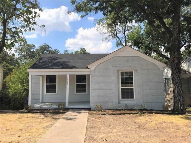 1419 S Marsalis Avenue, Dallas, TX 75216 (MLS #14162982) :: Ann Carr Real Estate