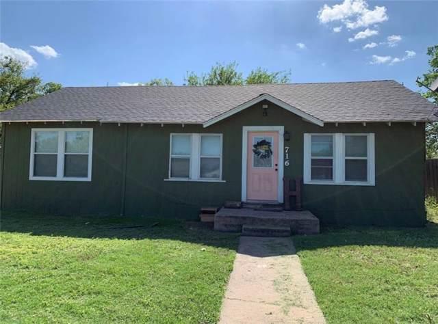 716 Gordon Avenue, Albany, TX 76430 (MLS #14163001) :: The Chad Smith Team