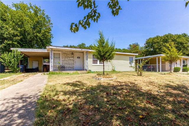 5733 Truelson Drive, Fort Worth, TX 76134 (MLS #14163061) :: Potts Realty Group