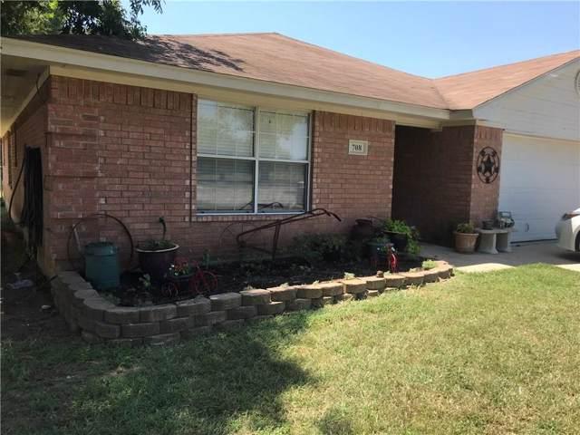 708 E 7th Street, Springtown, TX 76082 (MLS #14163071) :: The Chad Smith Team