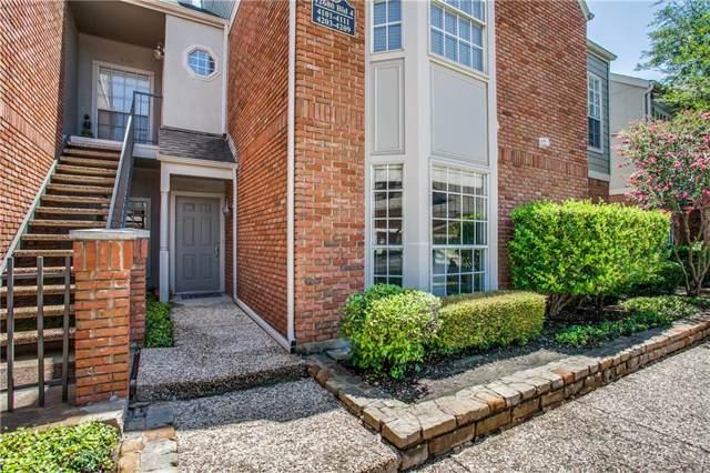 12680 Hillcrest Road #4106, Dallas, TX 75230 (MLS #14163120) :: Kimberly Davis & Associates
