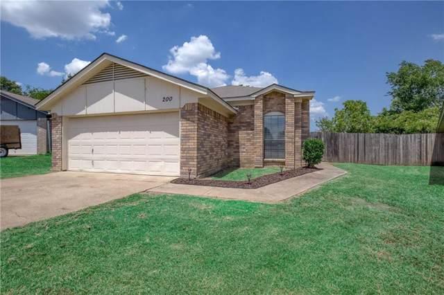200 Lone Pine Court, Fort Worth, TX 76108 (MLS #14163165) :: Kimberly Davis & Associates