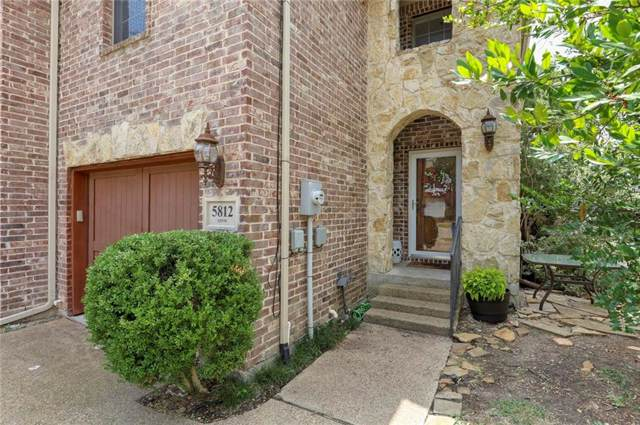 5812 Lewis Street, Dallas, TX 75206 (MLS #14163669) :: Kimberly Davis & Associates