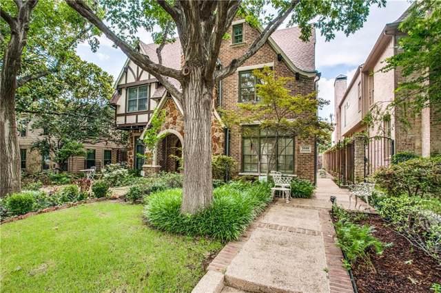 3448 Shenandoah Street, University Park, TX 75205 (MLS #14163685) :: The Heyl Group at Keller Williams