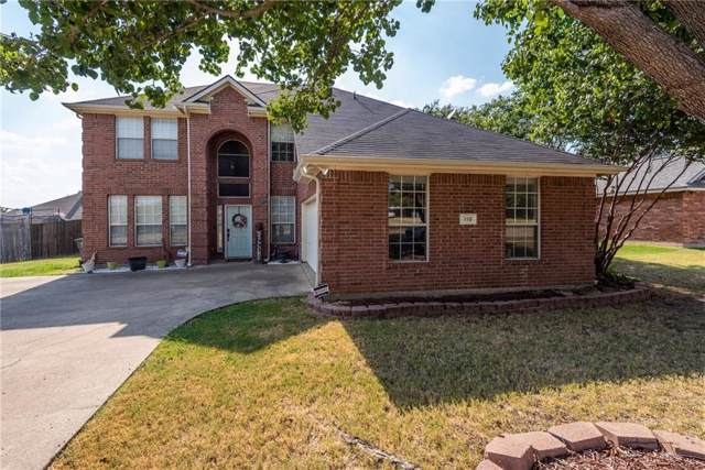110 Clear Creek Drive, Red Oak, TX 75154 (MLS #14163851) :: Tanika Donnell Realty Group