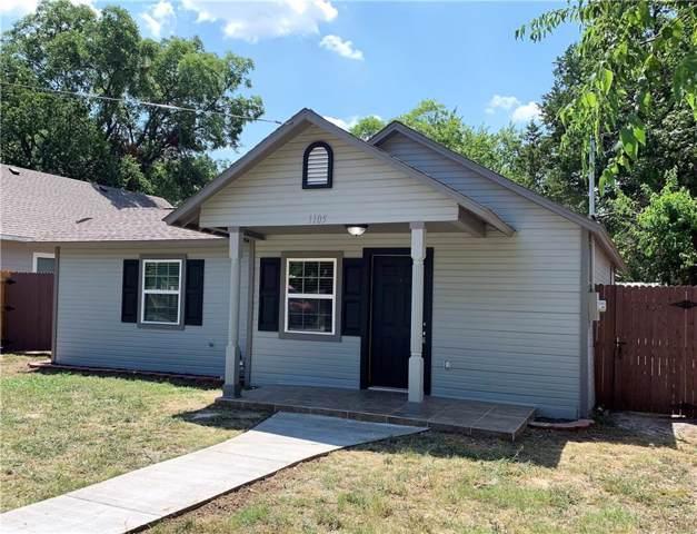 1105 S Morris Street, Gainesville, TX 76240 (MLS #14163951) :: The Tierny Jordan Network