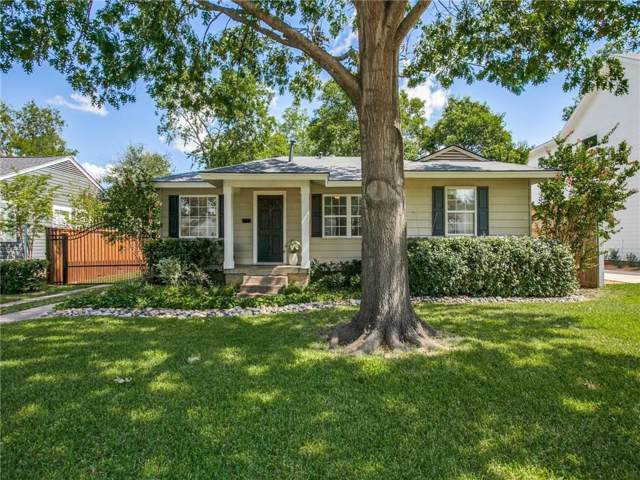 3983 Rochelle Drive, Dallas, TX 75220 (MLS #14164001) :: The Mitchell Group