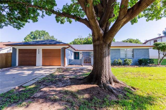 6425 Cliffside Drive, North Richland Hills, TX 76180 (MLS #14164074) :: The Real Estate Station