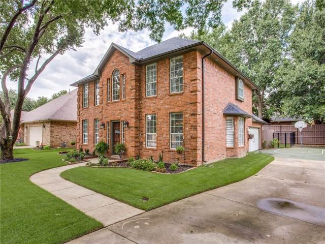 613 Turtledove Lane, Grapevine, TX 76051 (MLS #14164107) :: Kimberly Davis & Associates